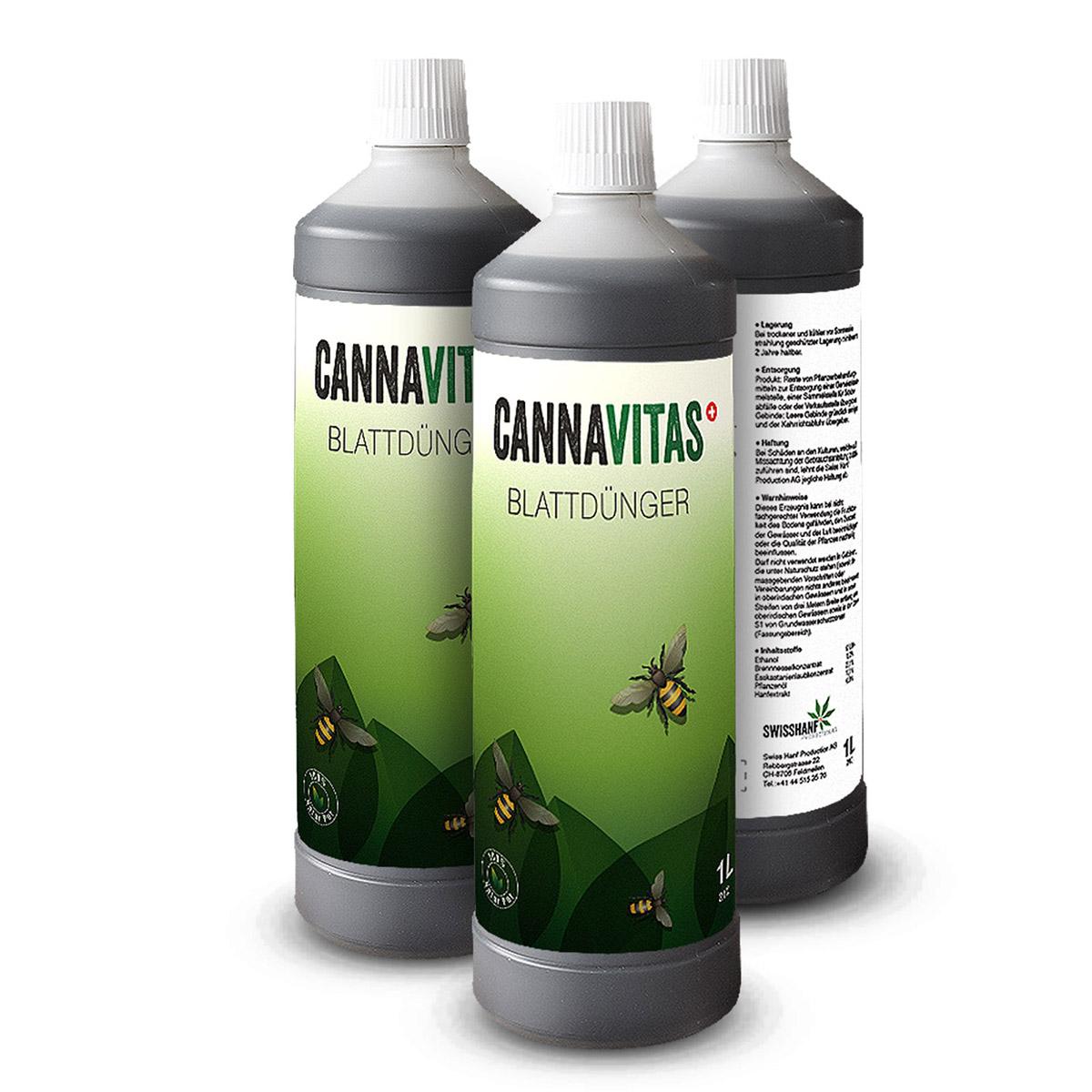 Swiss Hanf AG - Cannavitas 1-Liter-Flasche