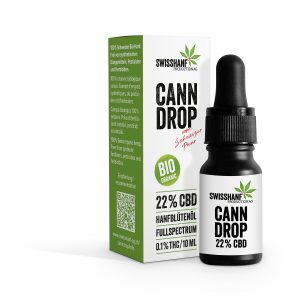 Swisshanf Cann Drop - 22% CBD - Hanfblütenöl