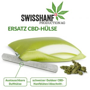 Swisshanf Production AG CBD Ersatz Hülse